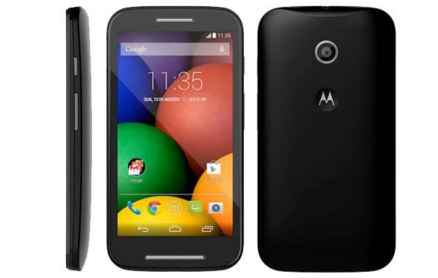 El Moto E de Motorola da la cara antes de tiempo