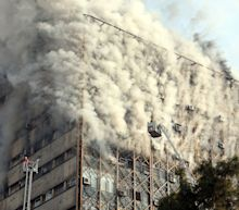 Deadly fire destroys high-rise building in Tehran, Iran