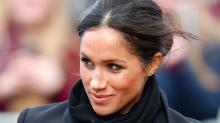 Meghan Markle Breaks Royal Protocol in Wales
