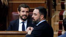 PP y Vox, una relación de encontronazos en su cruzada común contra Sánchez