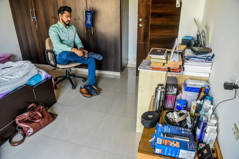 According to research firm EuroMonitor International, India's male grooming industry grew 10 percent between 2017 and 2018 (AFP Photo/Indranil MUKHERJEE)