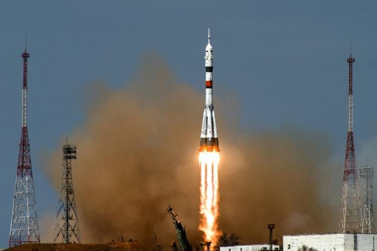 Russian cargo capsule docks with International Space Station