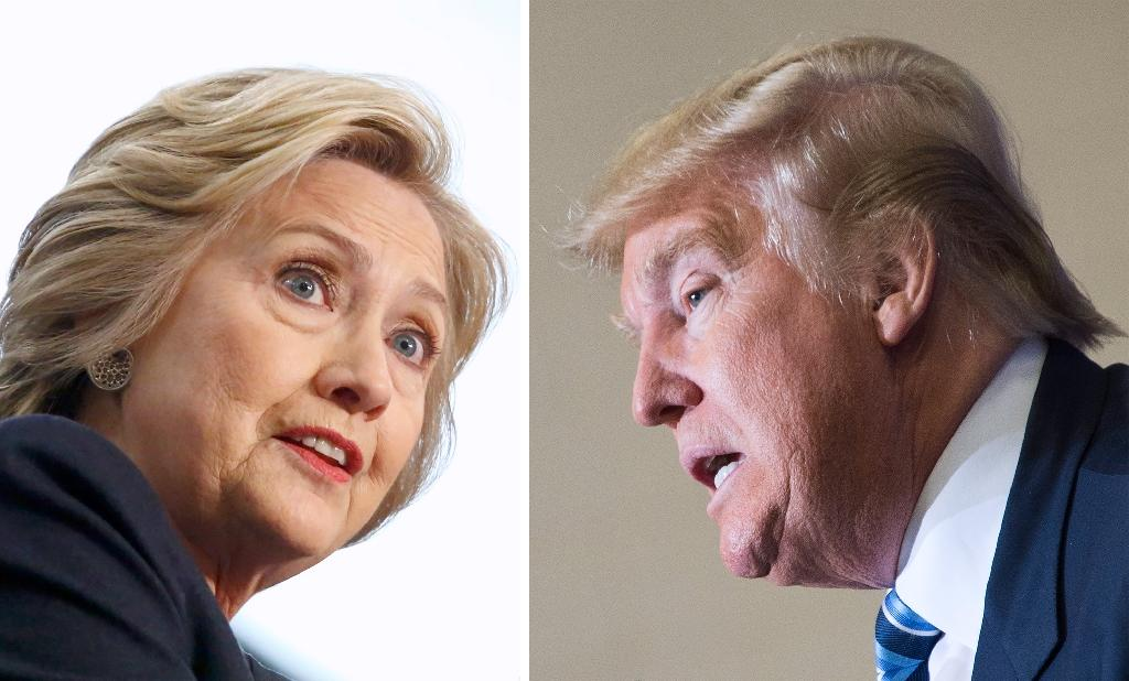 Hillary Clinton (L) has prepared meticulously for the coming clash, carefully studying Donald Trump's primary debate performances
