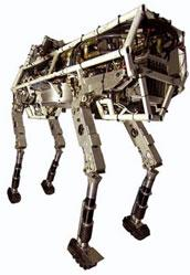 BigDog robot to carry gear for troops