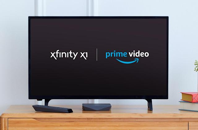 Comcast will add Prime Video to Xfinity X1