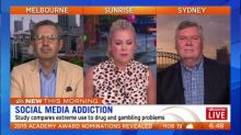 Social media addiction compares to drug and gambling problems