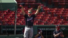 Ex-Red Sox Brock Holt makes pitching appearance for Nationals