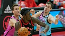 Siakam sits out practice with sore groin, status against Heat is unknown