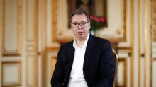Serbia's Vucic blames opponents for orchestrating violent protests