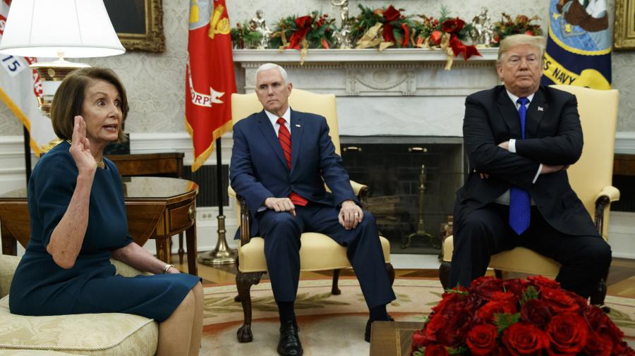 Morning Brief: Trump boosts gov't shutdown odds