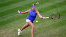 Kvitova into Birmingham final to face Barty