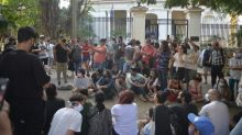 Cuba sees rare protest over freedom of expression