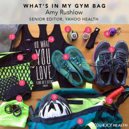 What's In My Gym Bag: Yahoo Health Fitness Editor Amy Rushlow