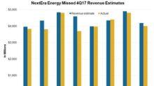 What Drove NextEra Energy's 4Q17 Revenues?