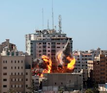 The Associated Press president says agency 'narrowly avoided a terrible loss of life' in Israeli bombing of Gaza media building
