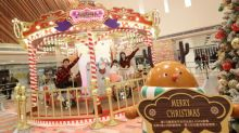 【聖誕2019】九龍灣動感聖誕嘉年華!巨型單車旋轉木馬+飄雪聖誕樹