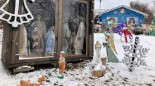 Support for damaged North Rustico nativity scene 'shows the humanity that's left on the Earth'