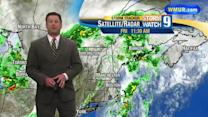 Scattered thunderstorms possible Friday through weekend