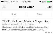 Instapaper gets a nice facelift for the iPad