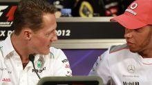 """F1: Ecclestone afirma que Schumacher """"corria sozinho"""" e compara Hamilton com Senna e Piquet"""
