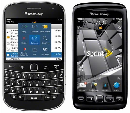 RIM's BlackBerry Torch 9850 goes official for Sprint and US Cellular (update: Bold 9930 for Sprint, too!)