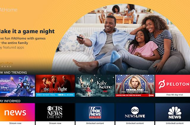 Amazon #AtHome brings free content to Fire TV and Fire Tablet devices