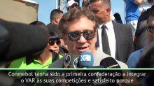 """COPA AMÉRICA: Alejandro Domínguez: """"VAR está fazendo justiça no futebol"""""""