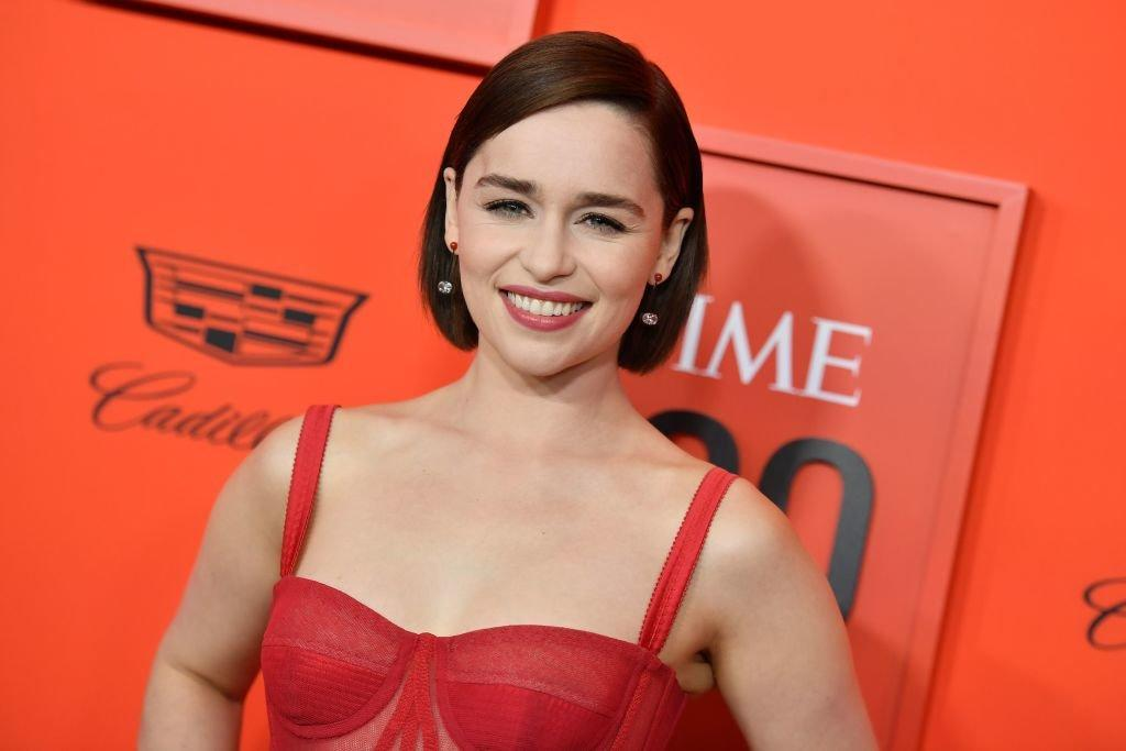 Image result for Festive Emilia Clarke Is Already Getting People in the Christmas Spirit