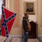 Trump supporter who brought Confederate flag into Capitol arrested