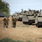 Israel steps up armored deployment on Gaza border