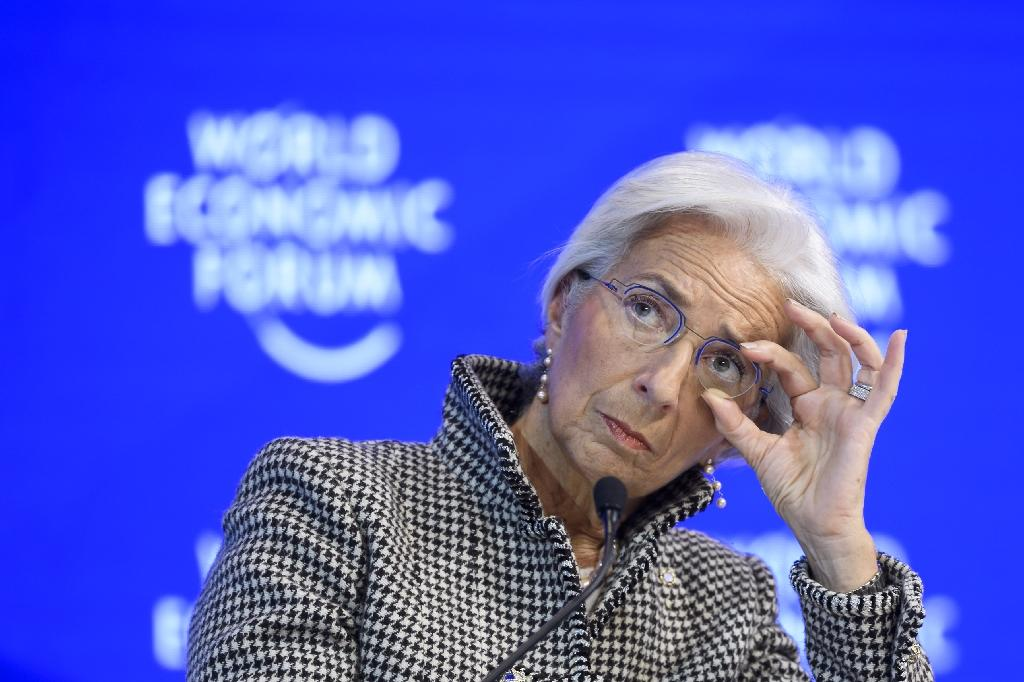 International Monetary Fund (IMF) managing director Christine Lagarde predicted tax reform and more investment in infrastructure were both likely under US President Donald Trump (AFP Photo/FABRICE COFFRINI)
