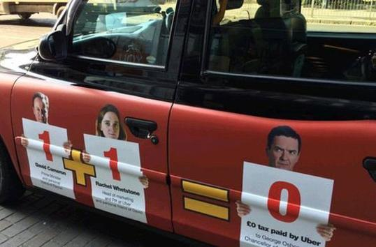 London's black cabbies launch another anti-Uber campaign