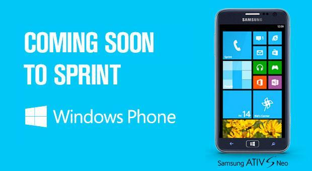 Sprint launching Samsung ATIV S Neo for $150 after rebate this summer