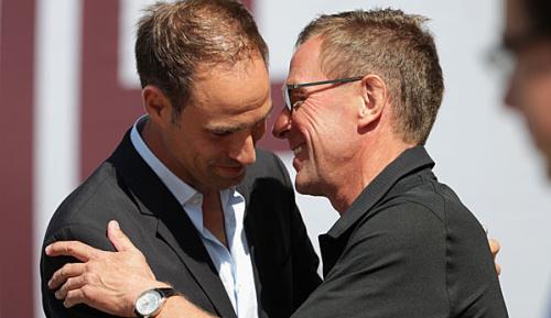 Bundesliga: Vertragsgespräche von RB Leipzig mit Rangnick im Sommer