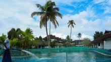 Virus-hit Indian resort turns pool into fish farm