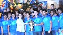 MI reunites to celebrate IPL triumph at Antilla