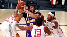 Basket - NBA - Les Houston Rockets gagnent le match 1 contre les Lakers