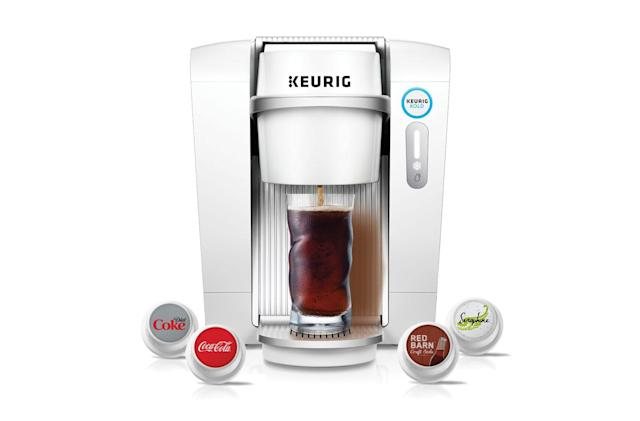 Keurig pulls the plug on its pod-based soda maker