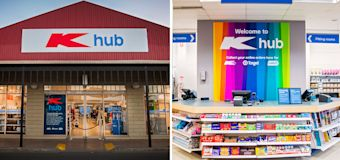 New K hub stores open with Kmart, Target products