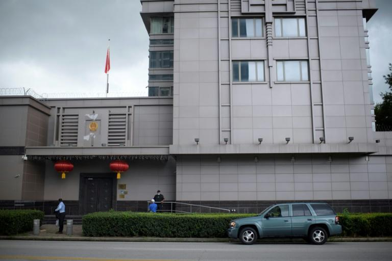 The US ordered China to shut its Houston, Texas consulate on Tuesday because, the State Department alleged, it had become a center of efforts to steal US technology and intellectual property (AFP Photo/Mark Felix)