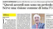 Italia-Cina, Bombassei: accordo su Via della Seta non è pericolo