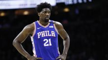 Joel Embiid fined $25,000 for giving the middle finger, using profanity after win against Hawks