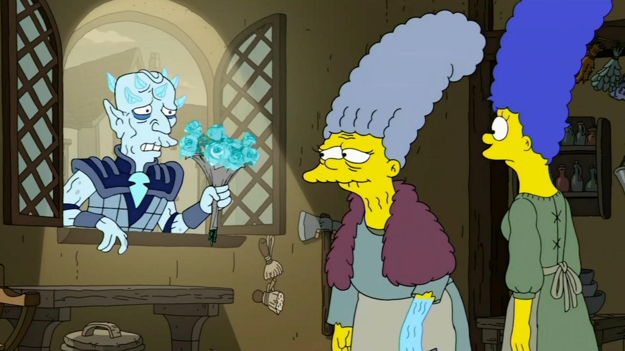 Game Of Thrones Simpsons