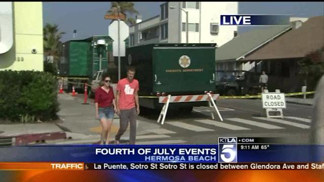 4th of July Celebrated Around Southern California