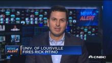 University of Louisville fires Rick Pitino