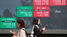Índices da China interrompem 5 dias de aganhos por dados fracos