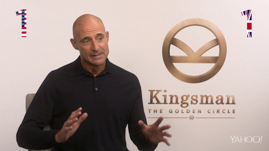 How patriotic is Mark Strong? We put him to the test