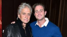 Michael Douglas becomes a grandfather as son Cameron welcomes first child