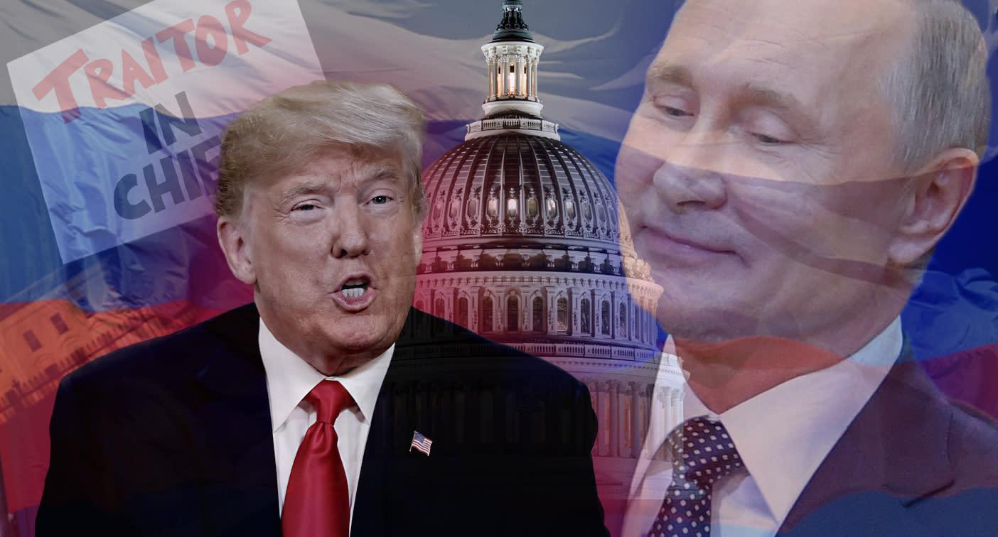 Trump blames Putin summit backlash on 'Trump Derangement Syndrome!'