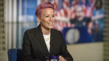 Rapinoe won't say if she's running for office